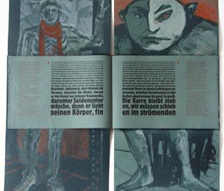 Doppelseite  27. Druck Tankred Dorst