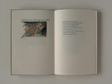 Doppelseite  11. Druck Georg Trakl