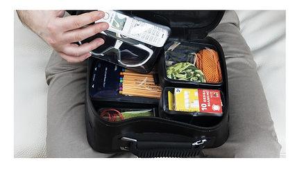 Capsules in the Camerac Bag