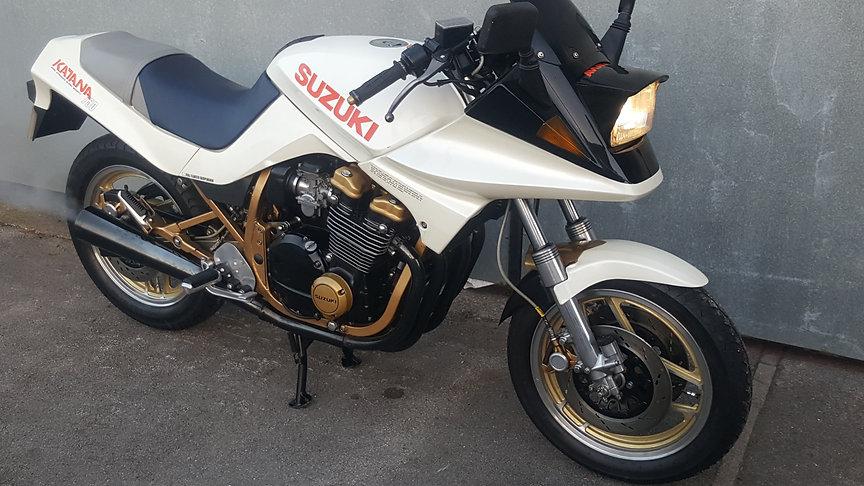 Russell James Motorcycles Suzuki GS 750 KATANA