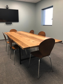 White Oak Conference Table