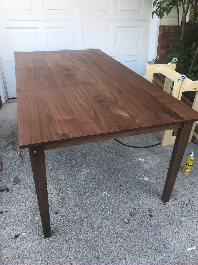 Walnut Extension Table