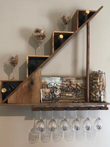 Stair Climber Wine Storage