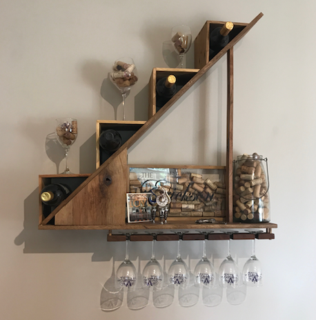 Stair Climber Wine Storage