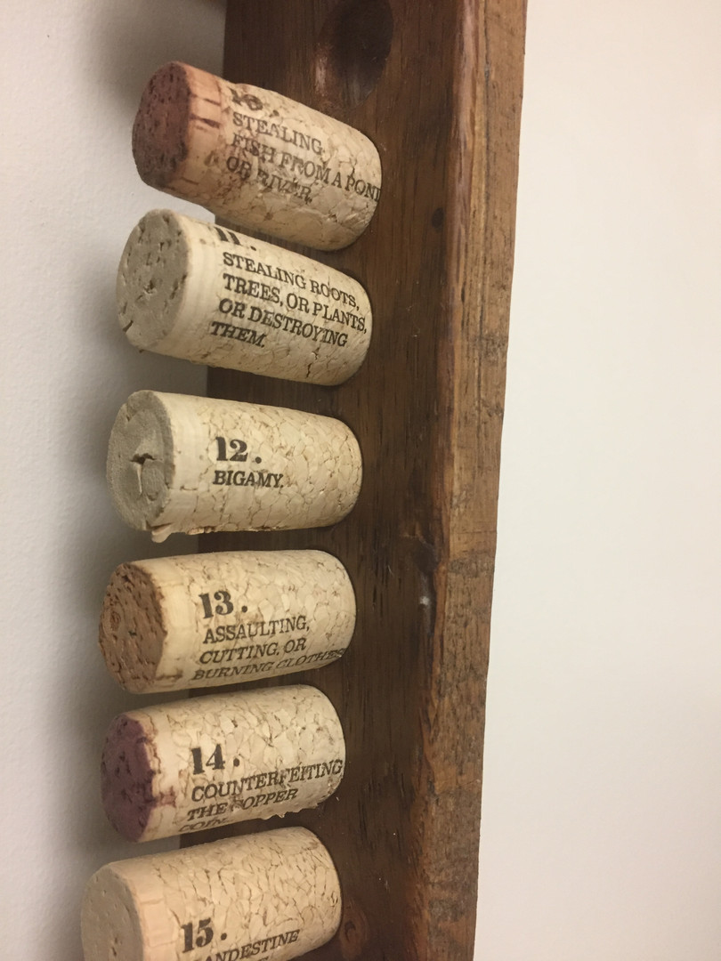19 Crimes Cork Holder