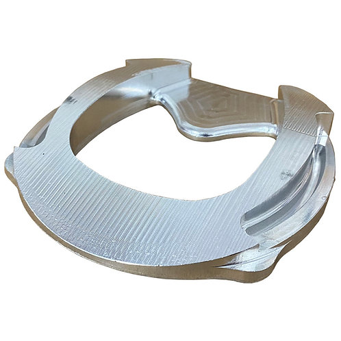 Aluminum Full Rocker Bar Shoe 4E (Each)