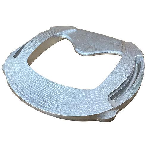 Aluminum Full Rocker Bar Shoe (Each)