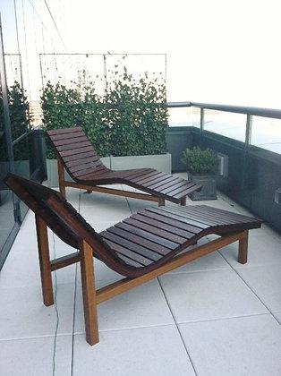 Waved Lounge Chairs