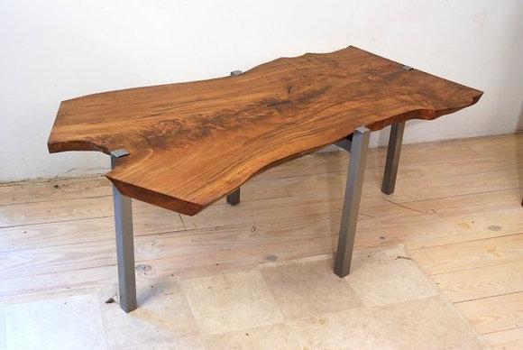 English Elm Crotch Coffee Table