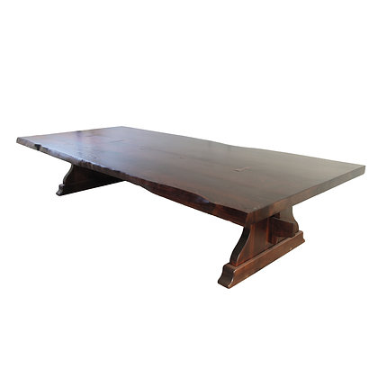 Elaborate Trestle Dining Table