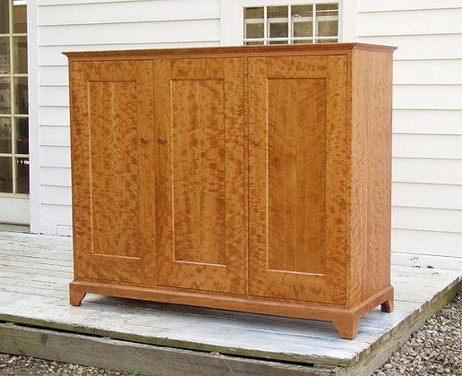 Selendy AV Cabinet