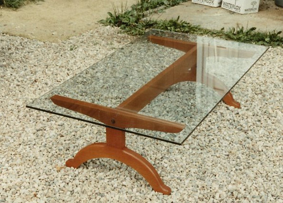 Arched Foot Coffee Table