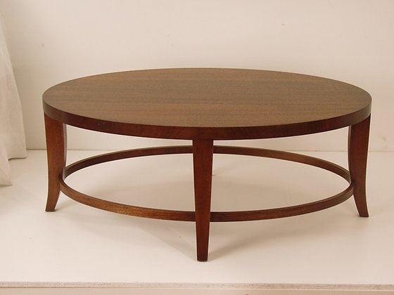 Elegant Oval Coffee Table