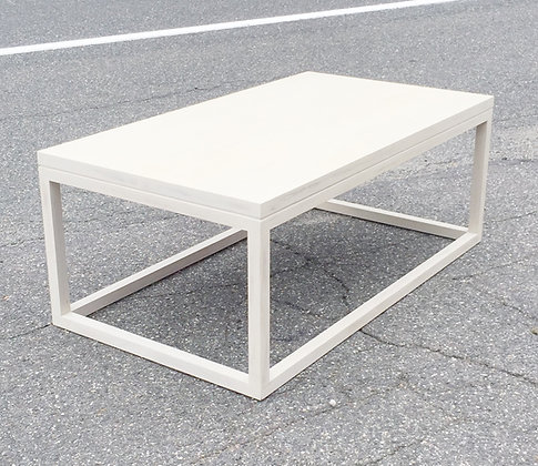 White Prism Table