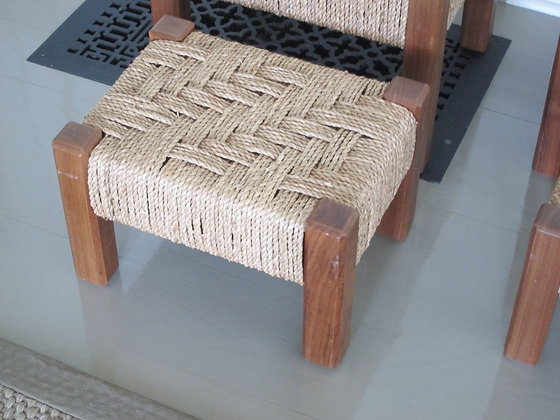 Child's Wicker Stool