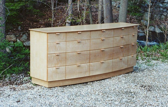 Bowfront 20 Drawer Dresser