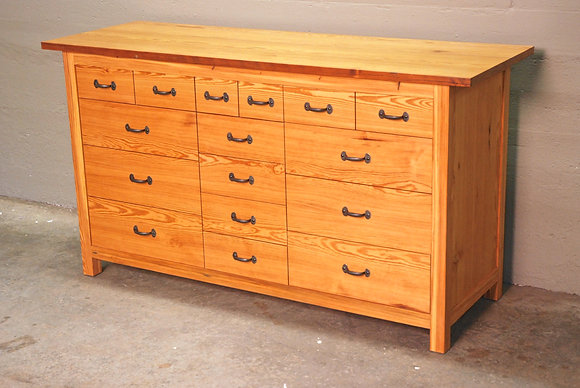 Heart Pine Dresser
