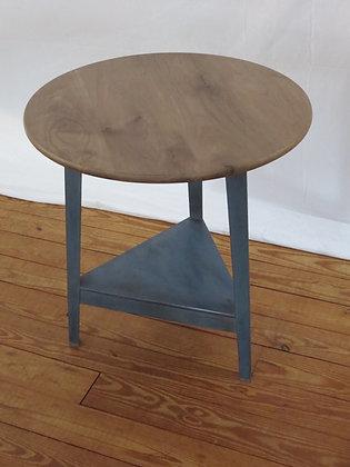 Triangle Base Side Table