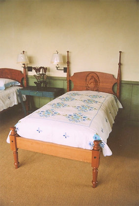 Holley's Bed with Carved Headboard