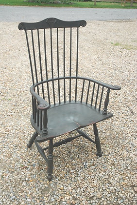 Shell Back Windsor Arm Chair