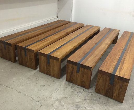 Concrete Inlay Bench