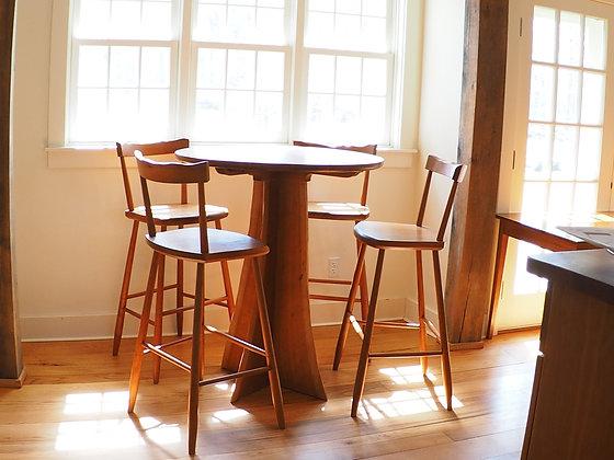 Live Edge Coffee Table & Stools