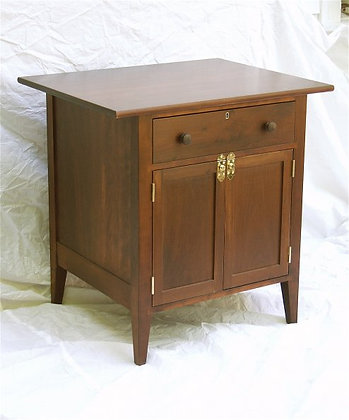 Lockable Side Table