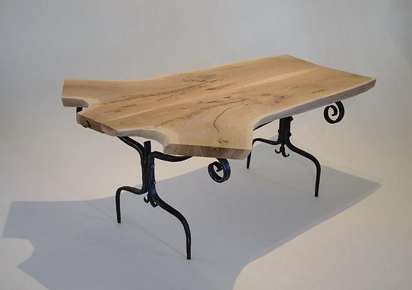 Fiddlehead Cast Iron Slab Table