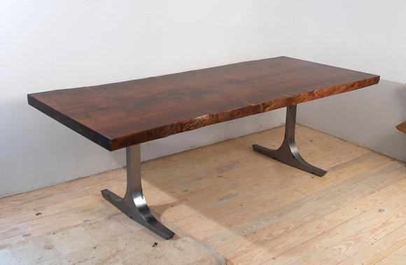 Flat Foot Trestle Table