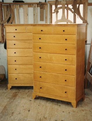 Tall Eight Drawer Chest