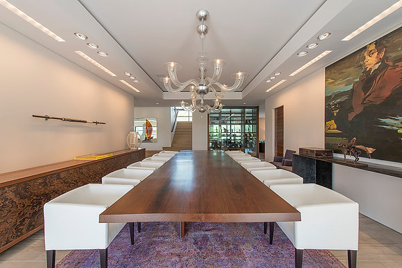 Elongated Dining Table