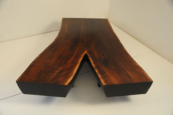 Slab Crotch Coffee Table