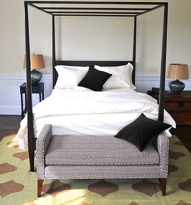 Ebonized Bed