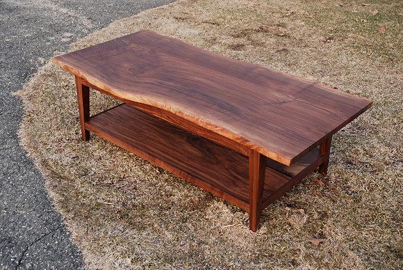 Freeform Walnut Table