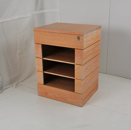 Lock Box Side Table
