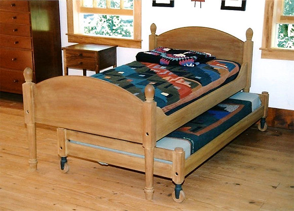 Shaker Trundle Twin Bed