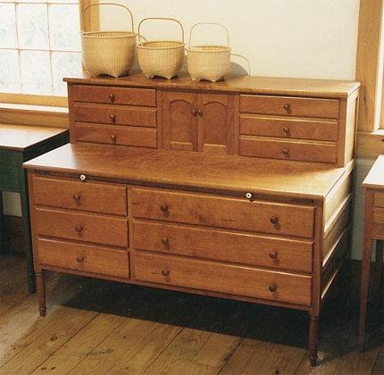 Shaker Sewing Desk