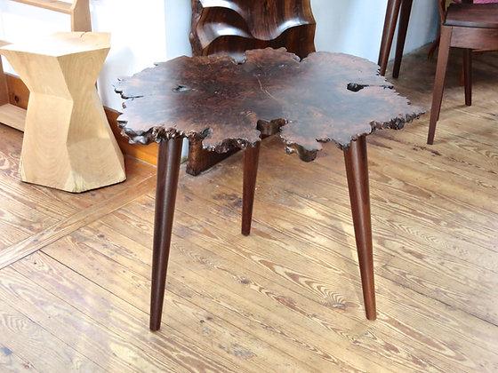 Burl Top Table