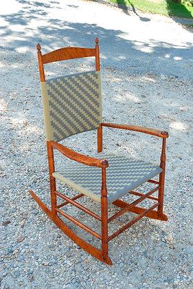 Mt. Lebanon #7 Tiger Maple Rocking Chair
