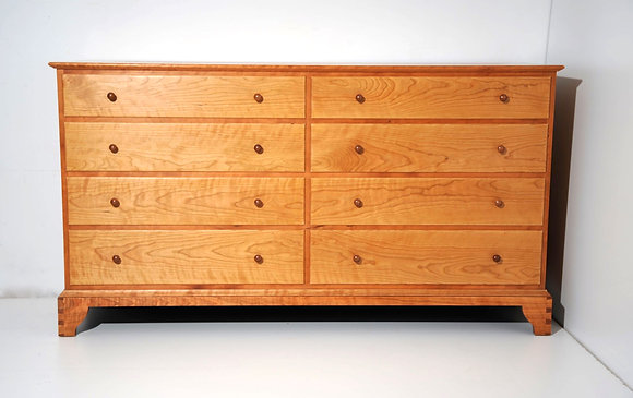 Low Eight Drawer Dresser