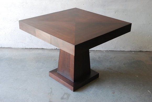 Walnut Game Table