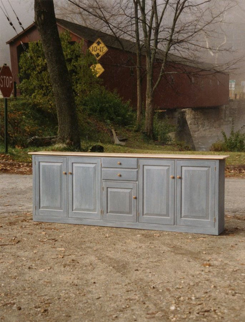 Slate Blue Cabinet