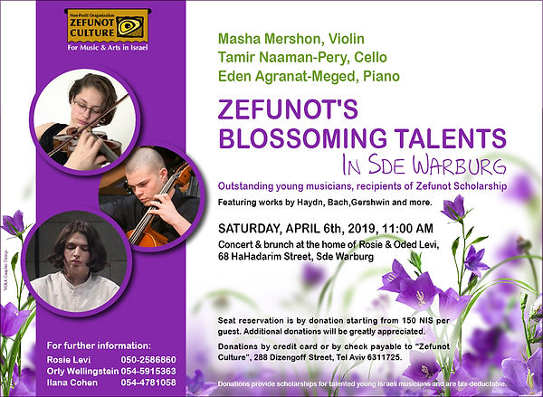 Zefunot's Blossoming Talents | Zefunot Culture