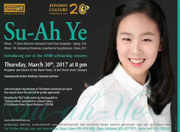 Su-Ah Ye, Zefunot Culture