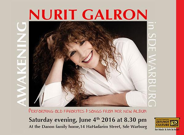 Nurit Galron - Awakening, Zefunot Culture
