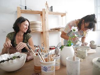 atelier de poterie LEs Dégourdies Marseille