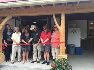 Grand Opening for the Heart of the Park in Bancroft.