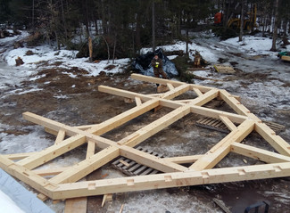 Bent 1 is done at The Roy Frame!