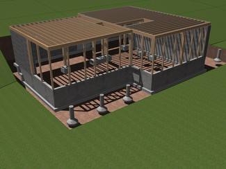 Fleming College's Sustainable Building 2015 Project - Haliburton Forest Staff Lodge