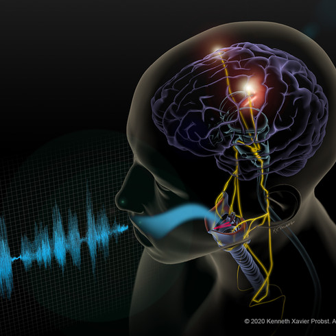 Controlling Vocal Pitch During Natural Speech